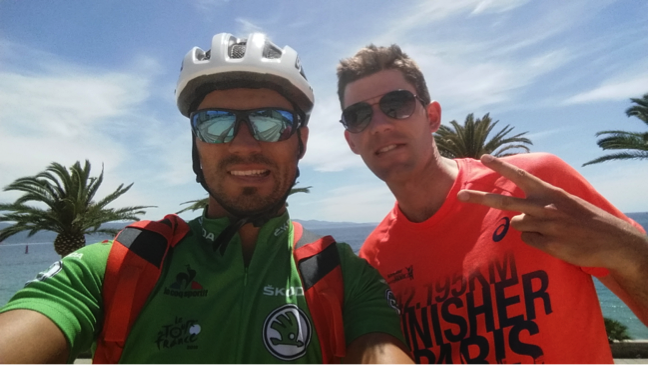 Guillaume Barraud voyage Corse vélo