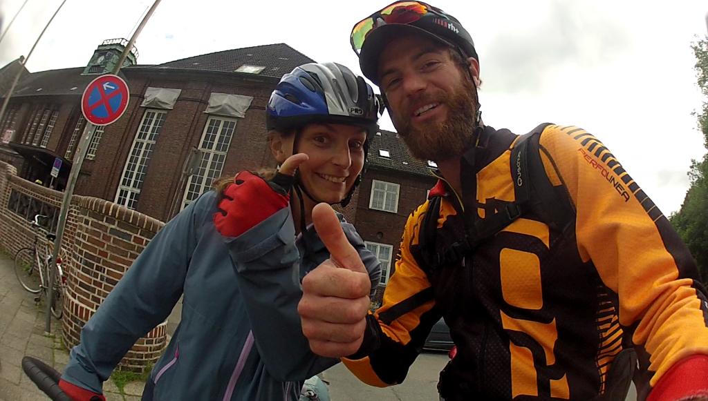Adrien et Géraldine voyage vélo
