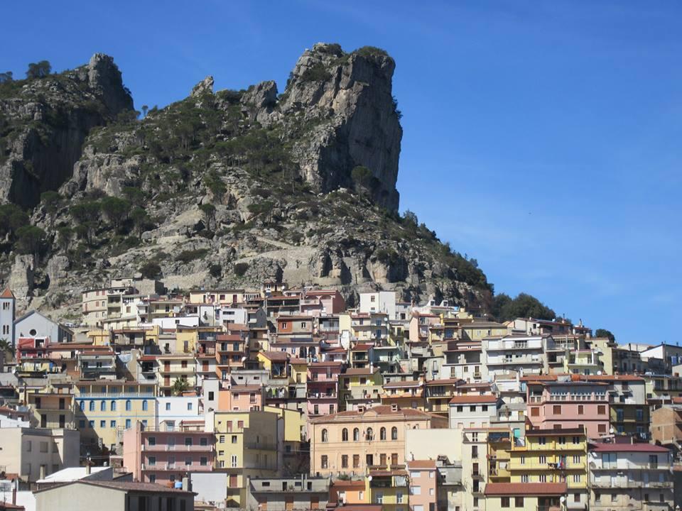 Ulassai dans les montagnes Sardaigne