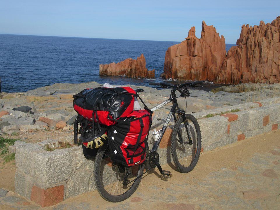 Sardaigne à vélo paysages