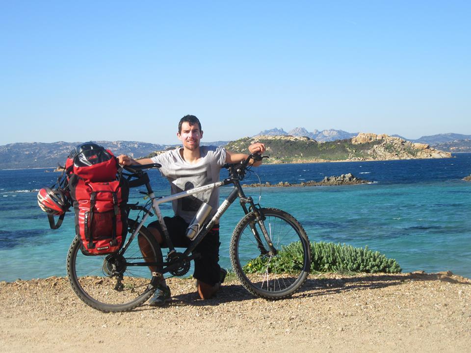 Tour de Sardaigne à vélo de Valentin Chapalain