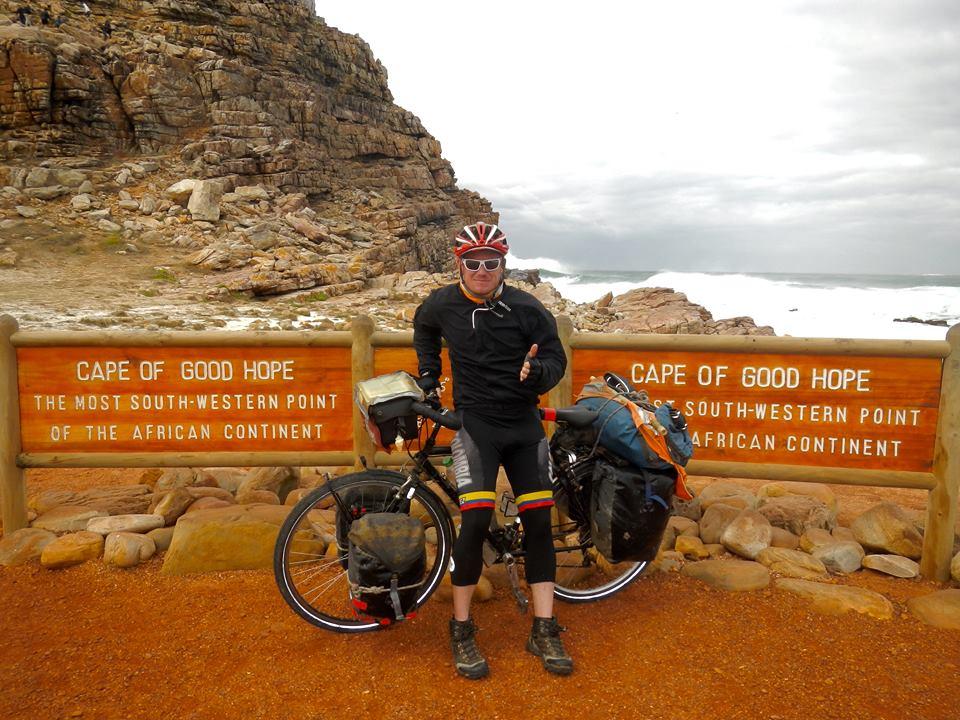 Cap de bonne espérance vélo voyage