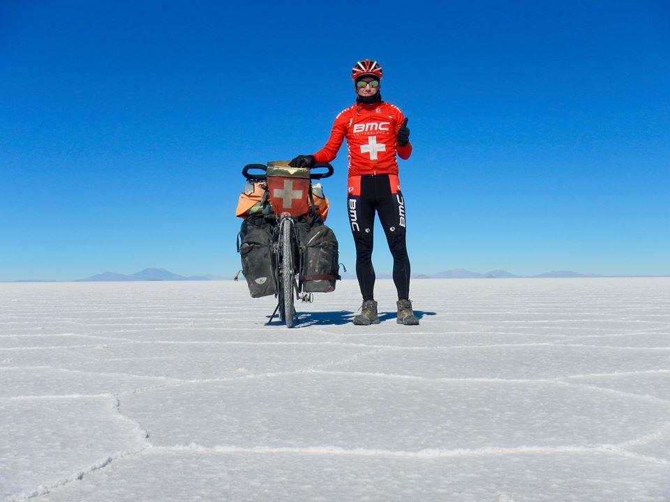 Pascal Bärtschi tour du monde vélo