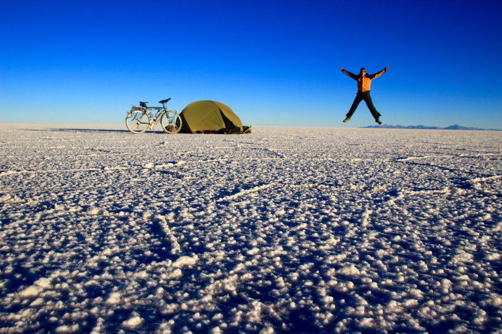 camping sauvage salar Uyuni