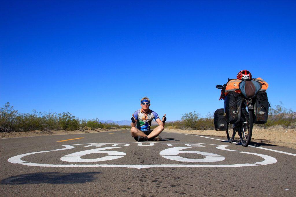 Route 66 à vélo