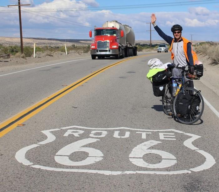 Voyage vélo route 66