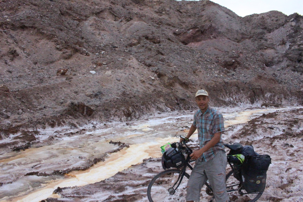 Pamir highway vélo