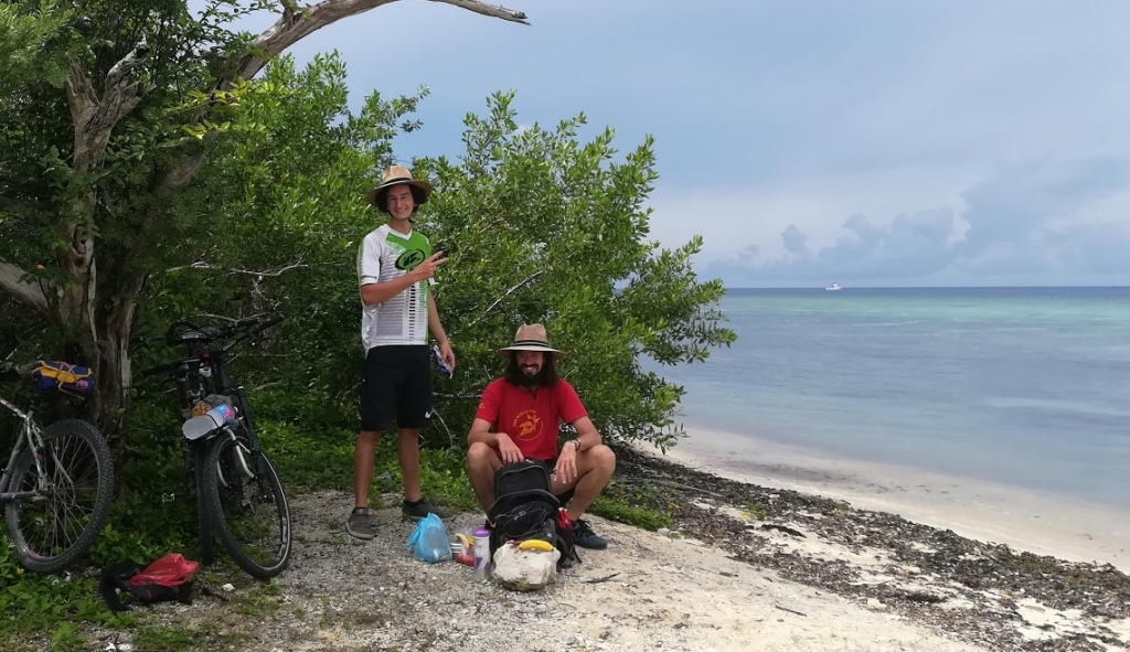 Vélo sur côte pacifique Mexique