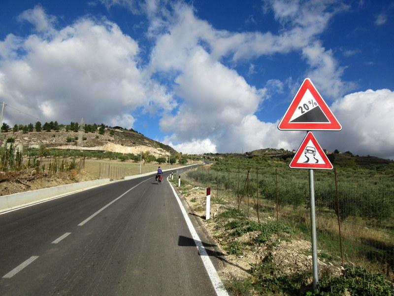 Voyager à vélo en Sicile