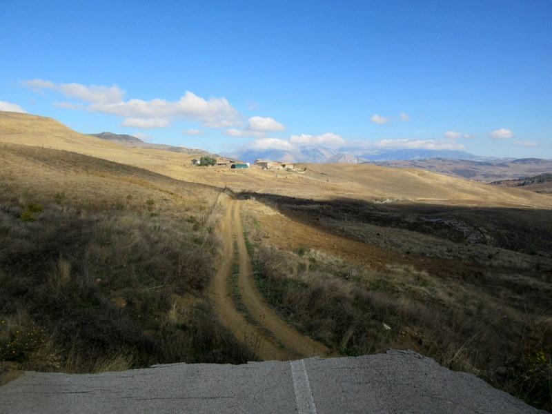 Routes Sicile vélo