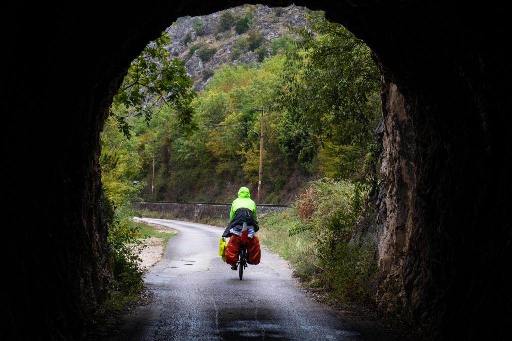 voyager à vélo au montenegro