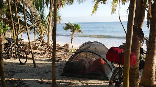 Camping sauvage au Mexique
