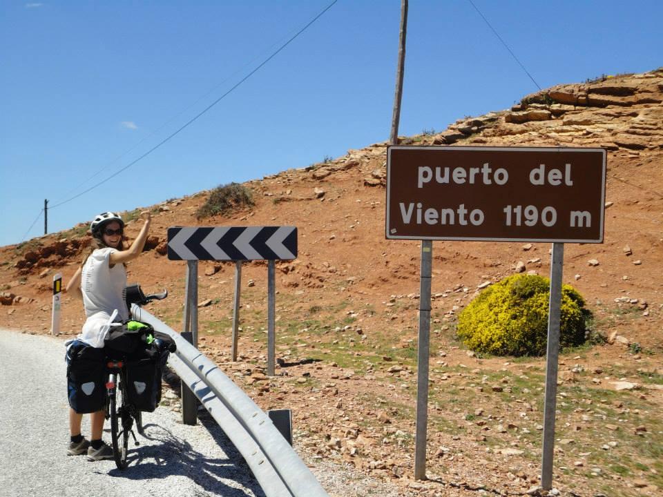 Puerto del viento Andalousie vélo