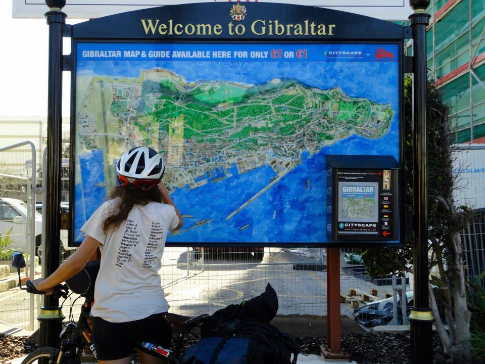 Gibraltar à vélo