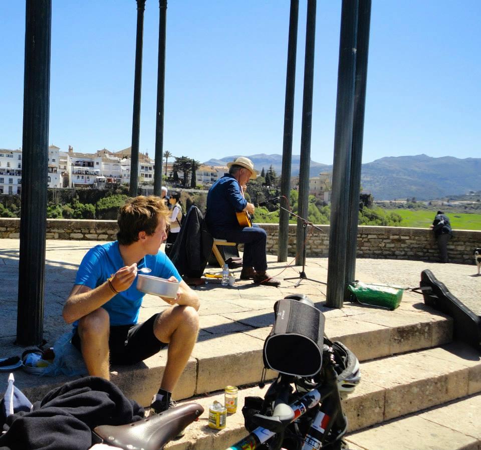 Cyclotourisme en Andalousie Ronda