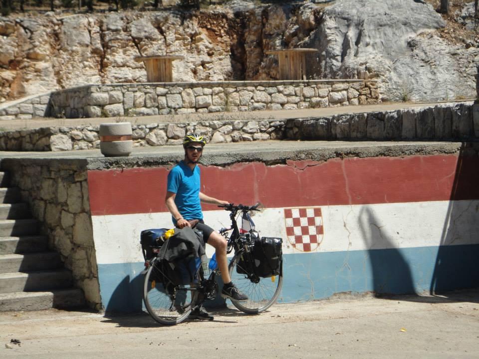 Croatie à vélo Eurovelo 8