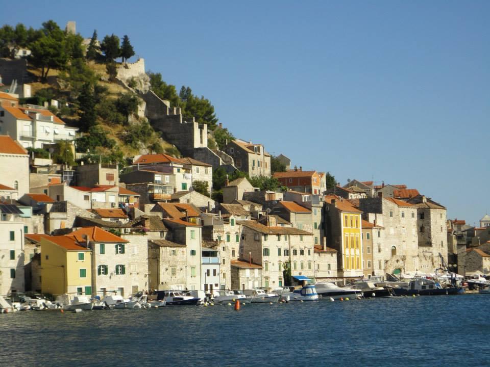 Sibenik voyage vélo en Croatie