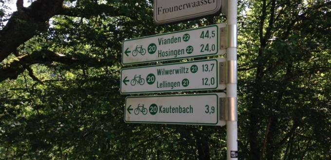 Pistes cyclables Allemagne