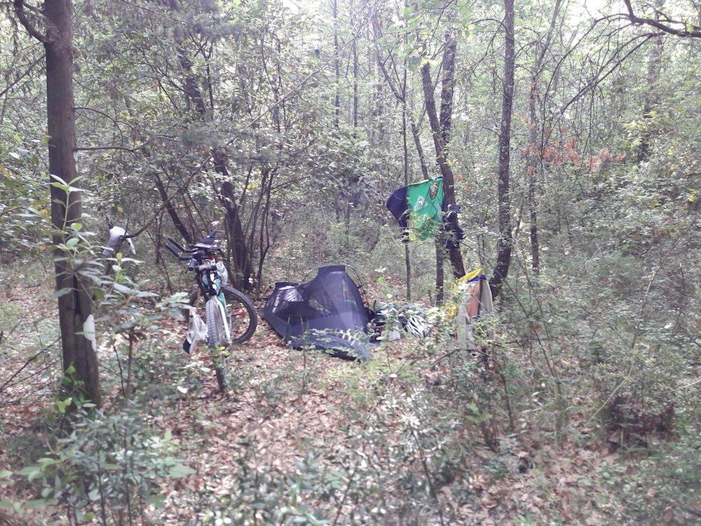 Camping vélo Toscane