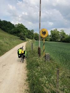 Itinéraire Eurovélo 6 Allemagne