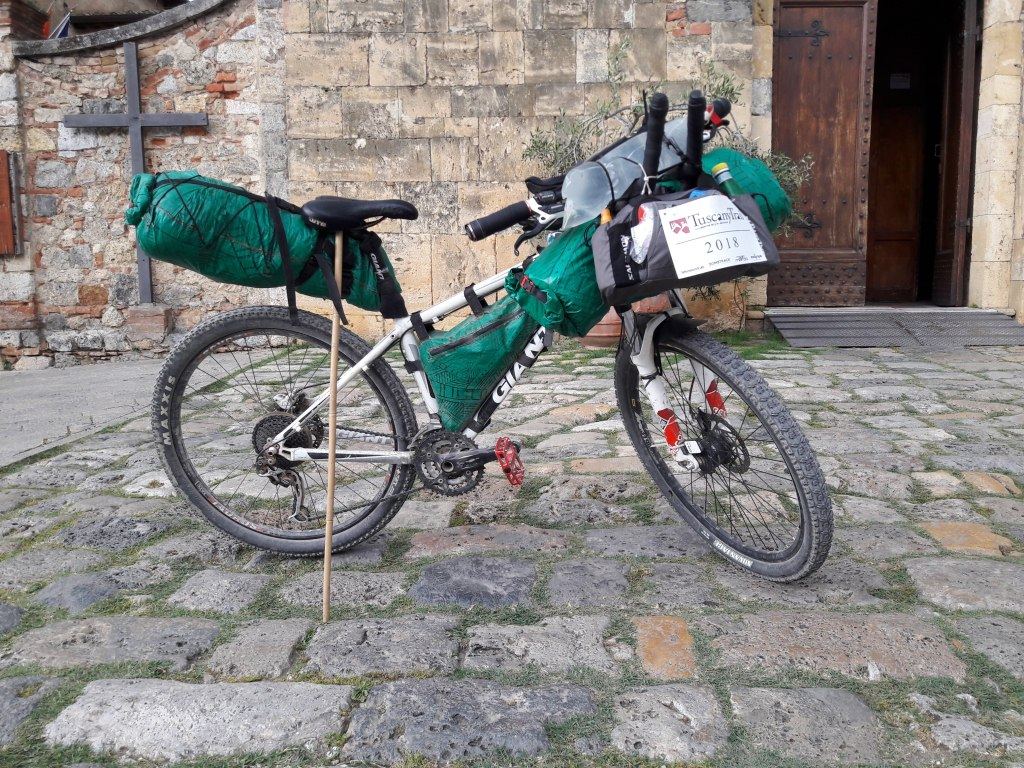Equipement bikepacking