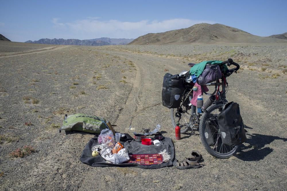 Voyager à vélo en Mongolie