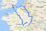 De Suisse jusqu'à Londres à vélo