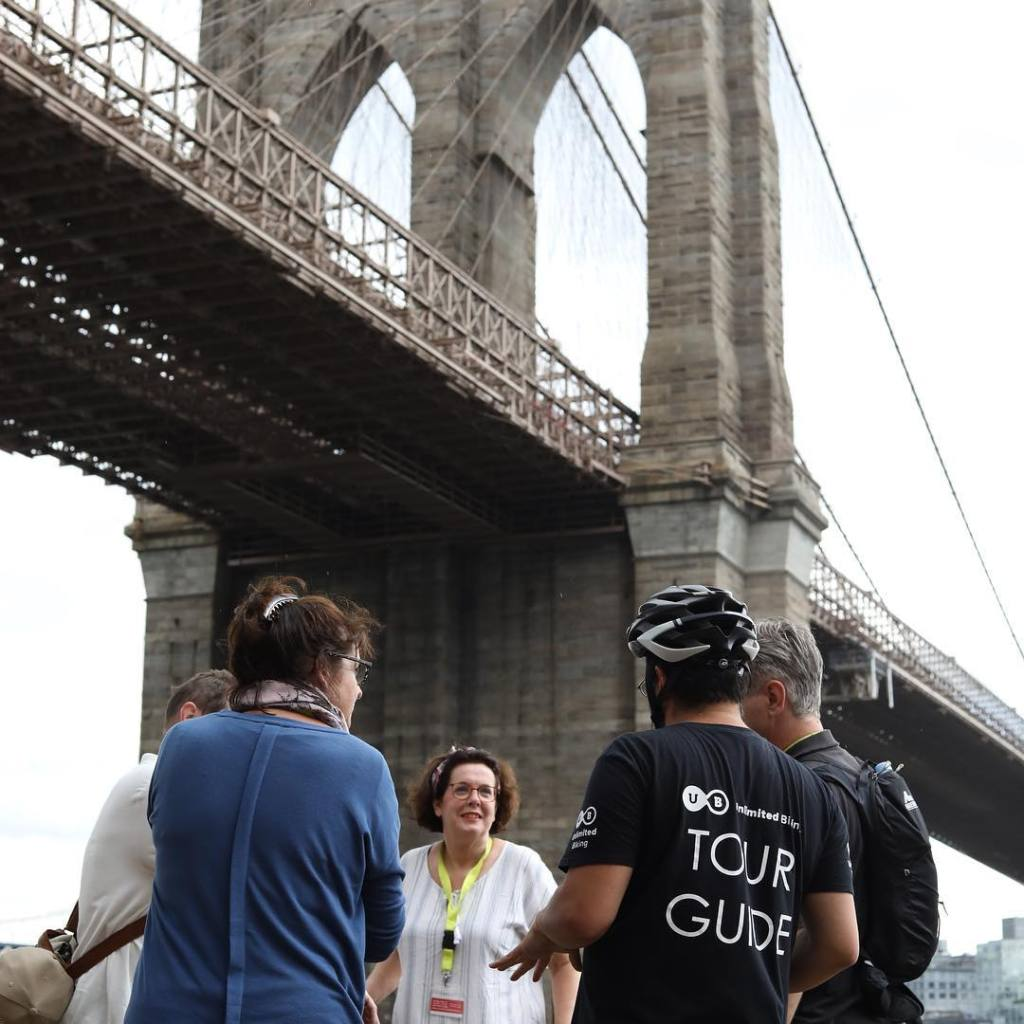 Pont de Brooklyn à vélo