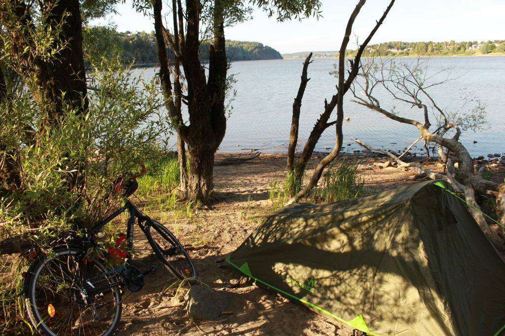 Camping Norvege voyage vélo