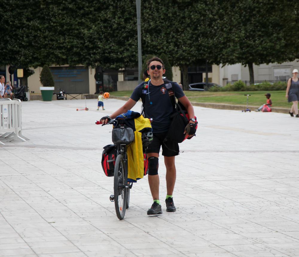 Alexis Murça voyage vélo