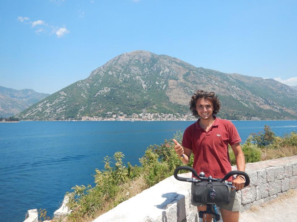 Luc Gonzalez voyage vélo