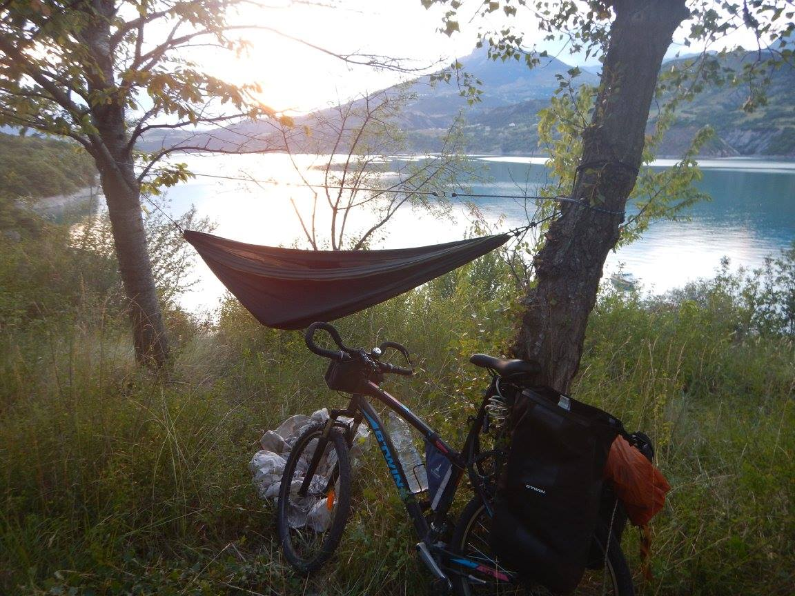 Camping sauvage vélo