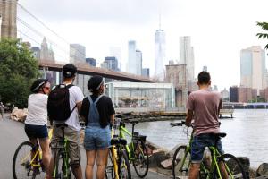 Balade vélo pont de Brooklyn
