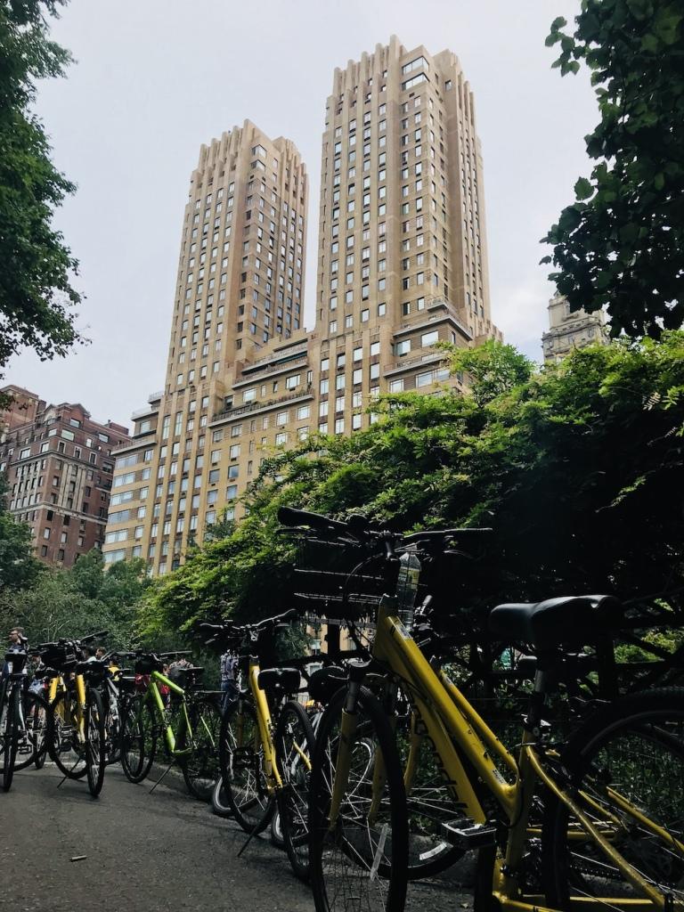 Central park balade vélo