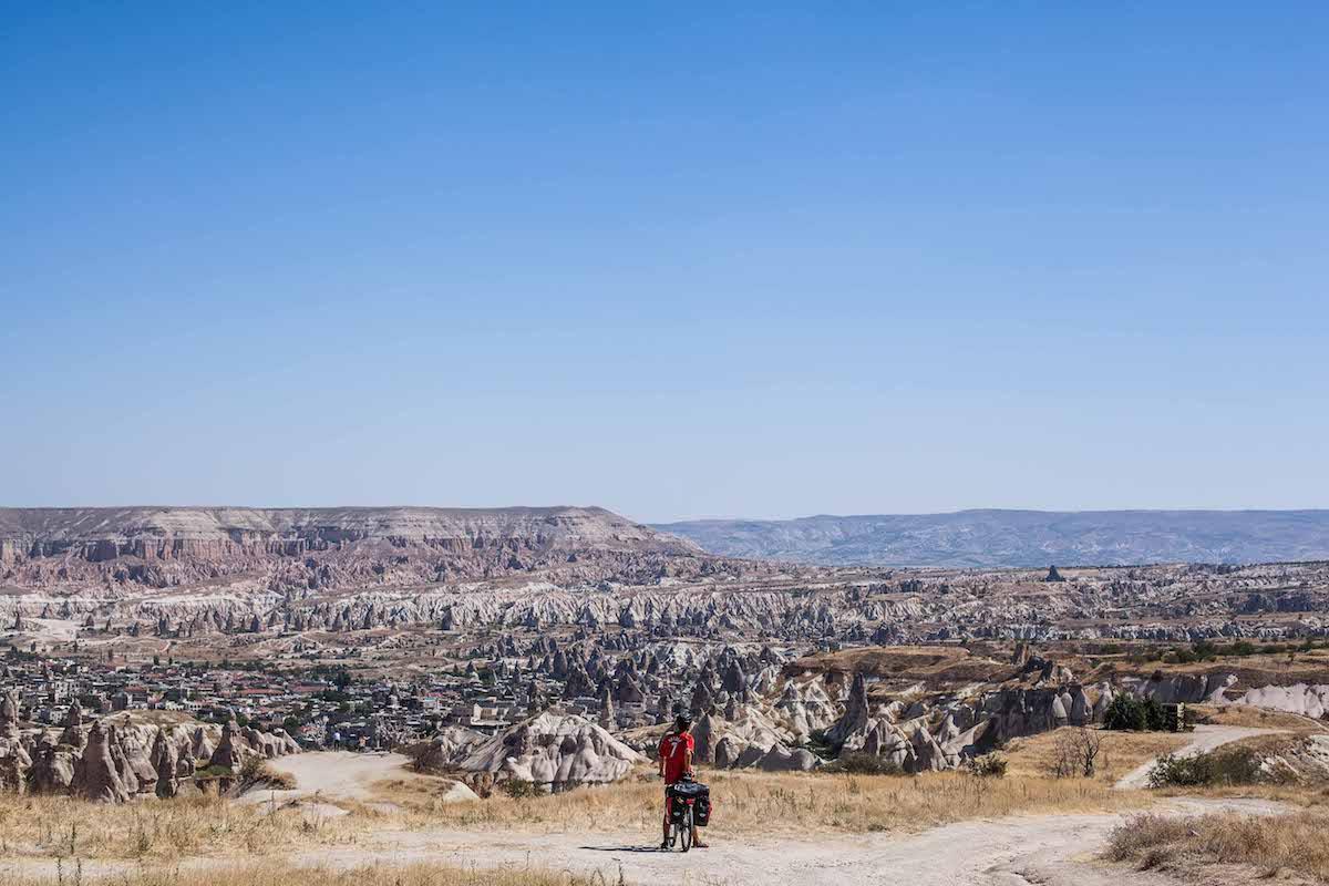 Cappadoce à vélo