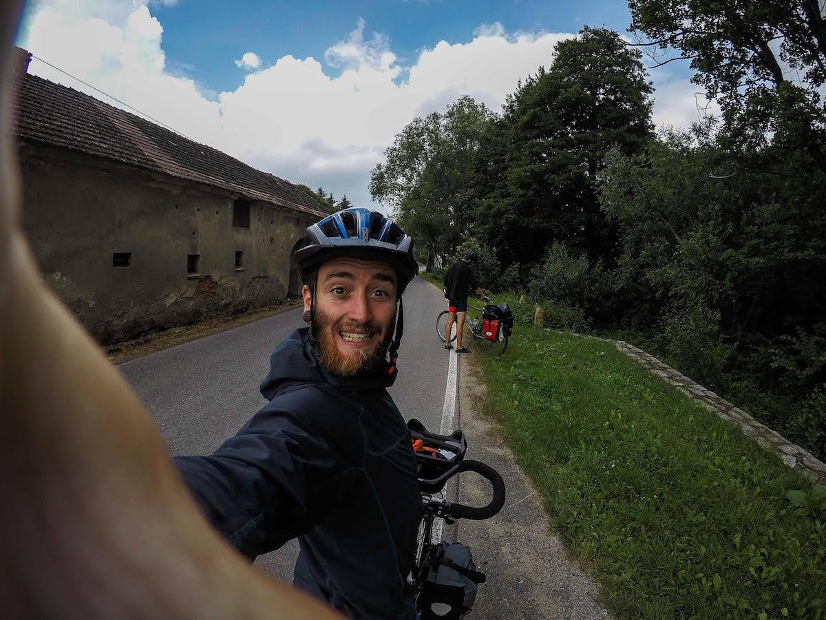 Clotaire Mandel voyage vélo