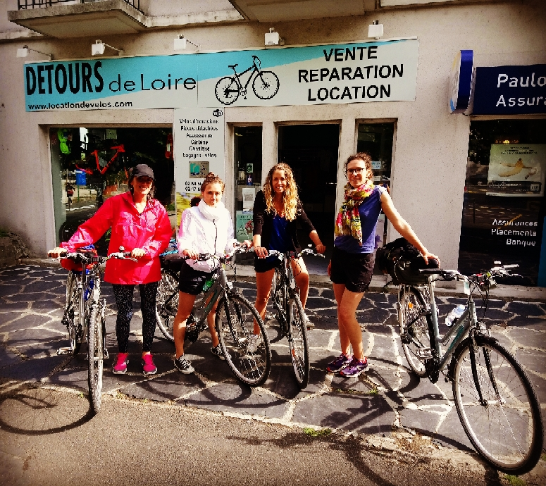 Détours de Loire location vélo Blois