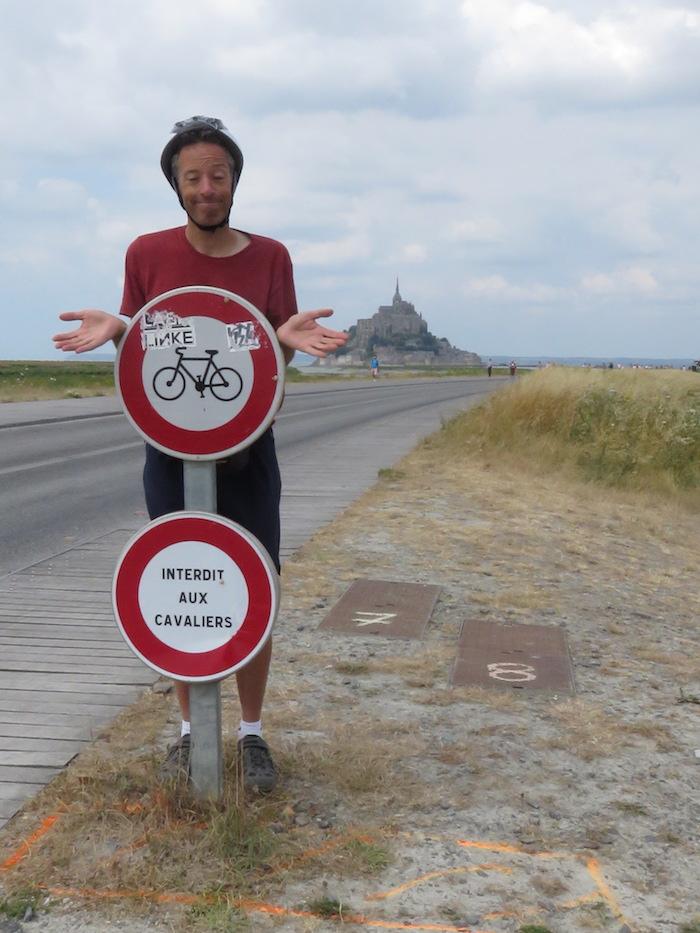 Mont saint michel vélo