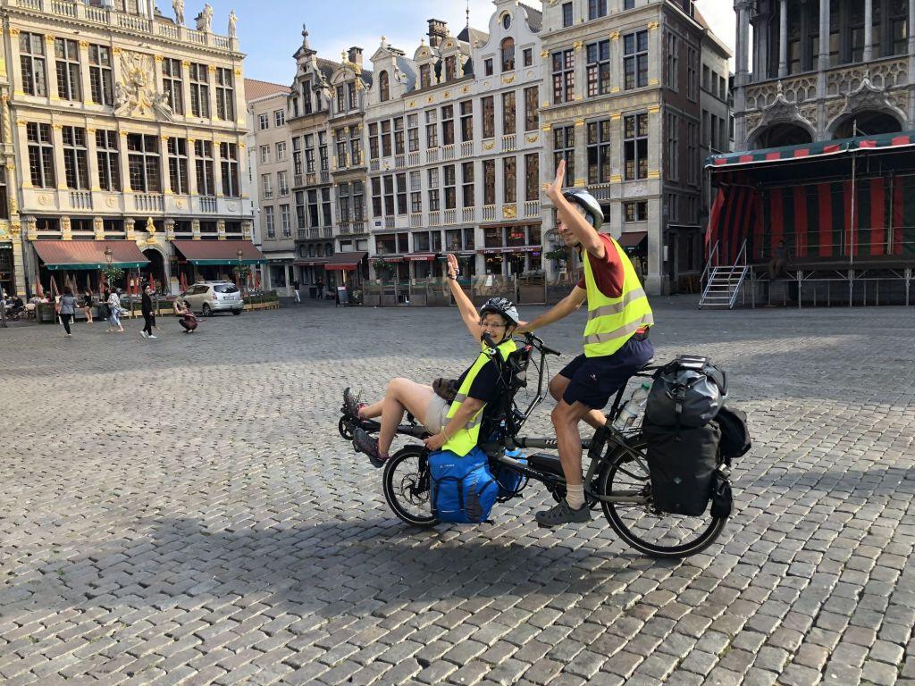 Tour de France tandem