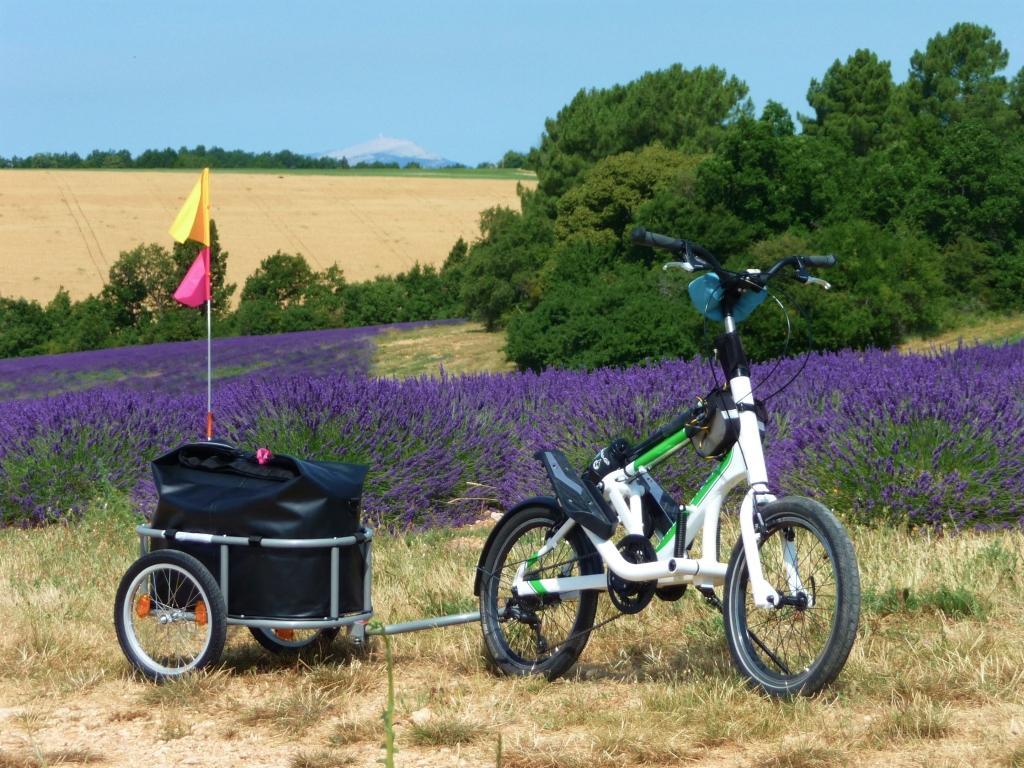 Voyage à vélo-stepper