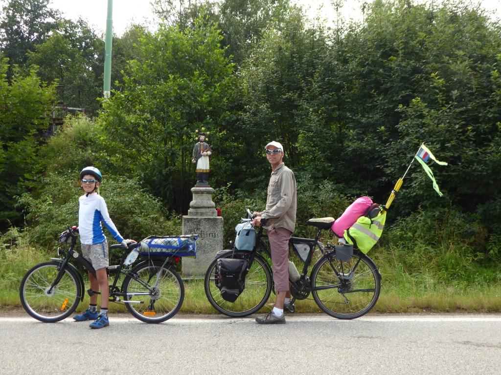 Voyager à vélo avec un enfant