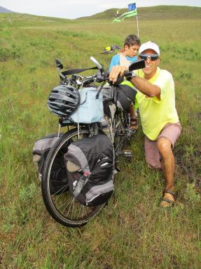 Voyage vélo avec enfant