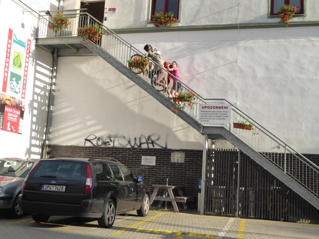 Logement vélo République Tchèque