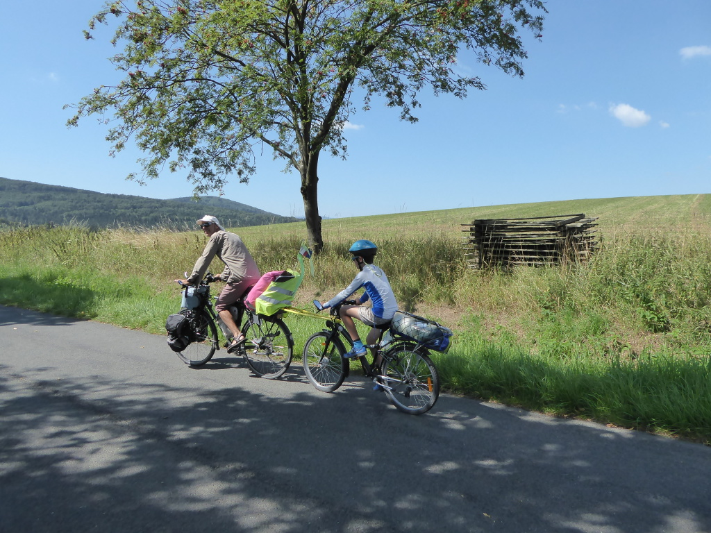 République Tchèque visite vélo