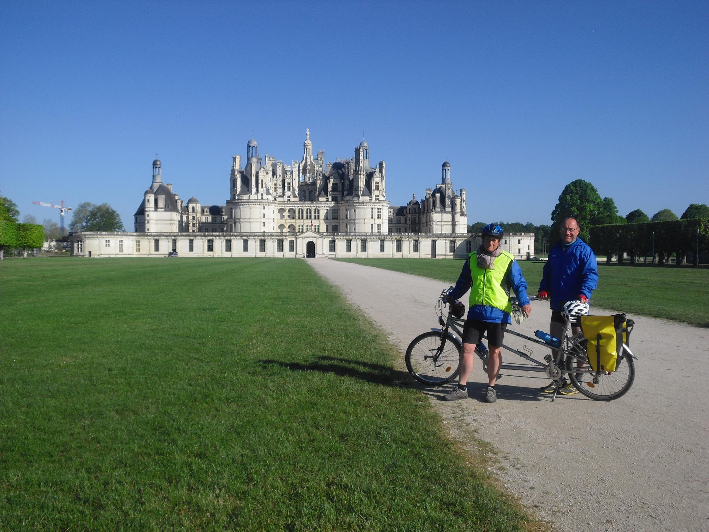 Chateaux de la Loire à vélo