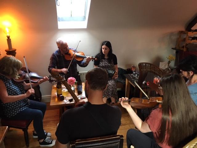 Petit concert irlandais