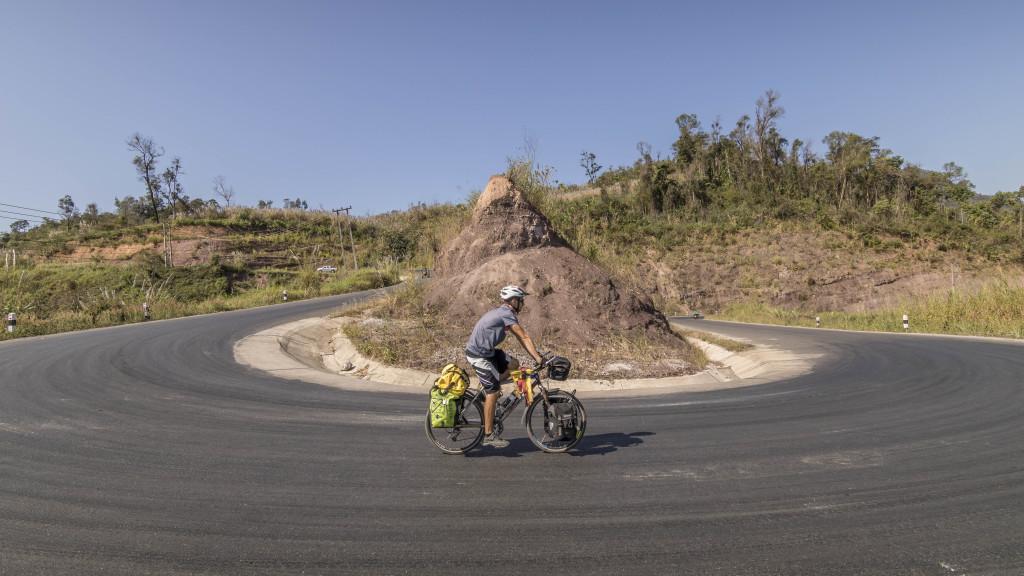 Routes Laos vélo
