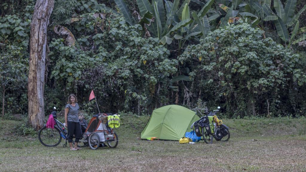 Thailande vélo camping