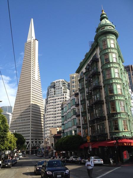 San Francisco à vélo