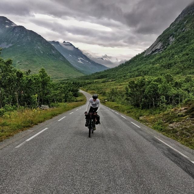 Les îles Lofoten à vélo